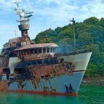 В Пхукете загорелась супер-яхта Lady D