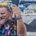 А. де ла Роса прошел рекордную дистанцию на лодке, гребя стоя